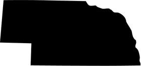 Nebraska Decal / Sticker 01