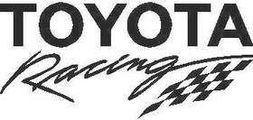Toyota Racing Decal / Sticker 03