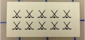 Custom Fingernail Decal / Sticker Set