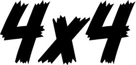 Z 4x4 Decal / Sticker 38