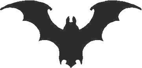 Bat 03 Decal / Sticker