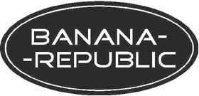 Banana Republic Decal / Sticker