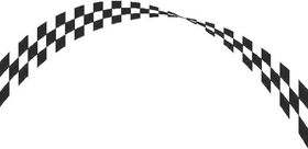 Checkered Flag Decal / Sticker 31