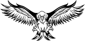 Flying Eagle Decal / Sticker 14