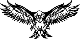 Flying Eagle Decal / Sticker 15