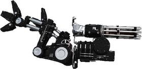 Robot Machine Gun Arm Decal / Sticker