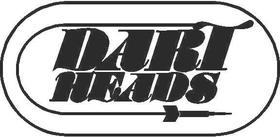 Dart Heads Decal / Sticker 01