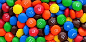 Assorted M&M Decal / Sticker 52