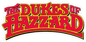 Dukes of Hazzard Decal / Sticker 01