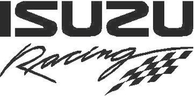 Isuzu Racing Decal / Sticker 02