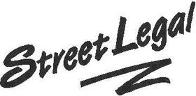 Street Legal Decal / Sticker