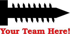 Screw Your Team Decal / Sticker 01