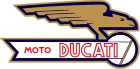 Moto Ducati Decal / Sticker 69