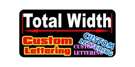 z1 Custom Lettering Decal / Sticker