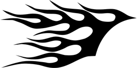 Fender Flames Decal / Sticker