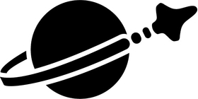 Lego Space Decal / Sticker 05