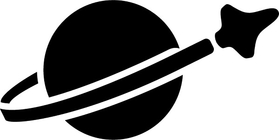 Lego Space Decal / Sticker 06