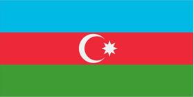 Azerbaijan Flag Decal / Sticker 01