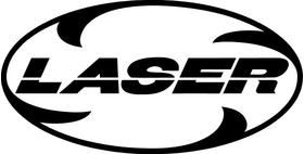 Laser Exhaust Decal / Sticker 05