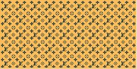 Green Bay Packers Louis Vuitton Pattern Decal / Sticker 19