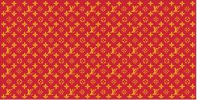 Kansas City Cheifs Louis Vuitton Pattern Decal / Sticker 18
