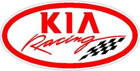Kia Racing Decal / Sticker 04