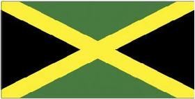 Jamaica Flag Decal / Sticker 02