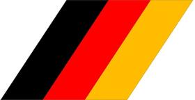 BMW M German Flag Decal / Sticker 36