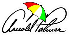 Arnold Palmer Signature Decal / Sticker 04