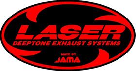 Laser Exhaust Decal / Sticker 03