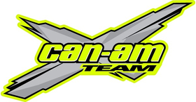 Team Can-Am Decal / Sticker 12