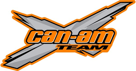 Team Can-Am Decal / Sticker 30