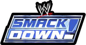 WWE Smack Down Decal / Sticker 02