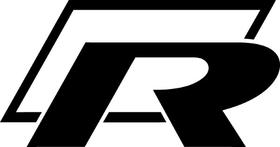 Rally Car R Decal / Sticker 02