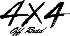 Z 4x4 Off Road Decal / Sticker