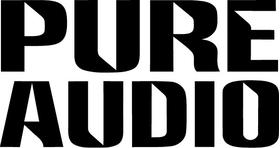 Pure Audio Decal / Sticker 02