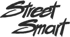 Street Smart Decal / Sticker
