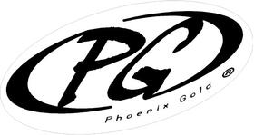 Phoenix Gold Decal / Sticker 03