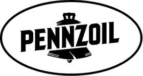 Pennzoil Decal / Sticker 01