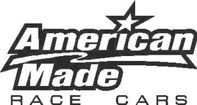 American Made Race Cars Decal / Sticker