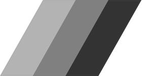 Grayscale BMW M Stripes Decal / Sticker 60