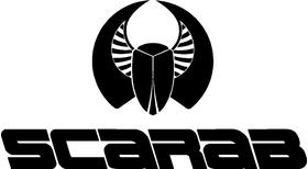 Scarab Decal / Sticker 06