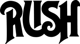 Rush Decal / Sticker 03