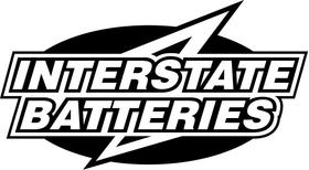 Interstate Batteries Decal / Sticker 03