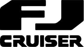 Toyota FJ Cruiser Decal / Sticker 05
