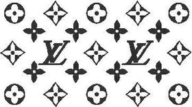 Louis Vuitton Pattern Decal / Sticker