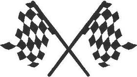 Checkered Flag Decal / Sticker 75