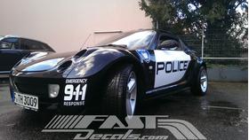 Barricade Police Shield Decal / Sticker