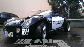 Emergency Response 911 Decal / Sticker 02