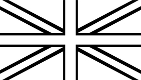 British Flag Decal / Sticker 10